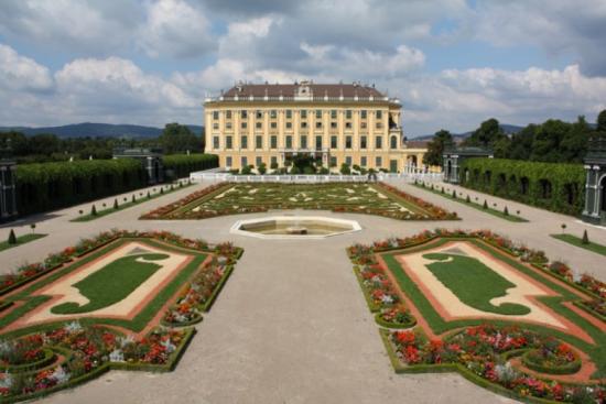 Jardim Schloss Schönbrunn - Laguna