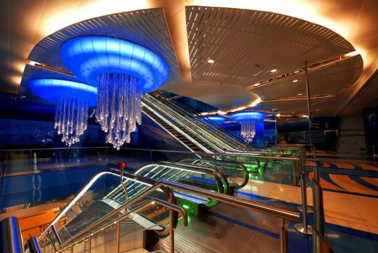 Estação metrô Dubai - Laguna