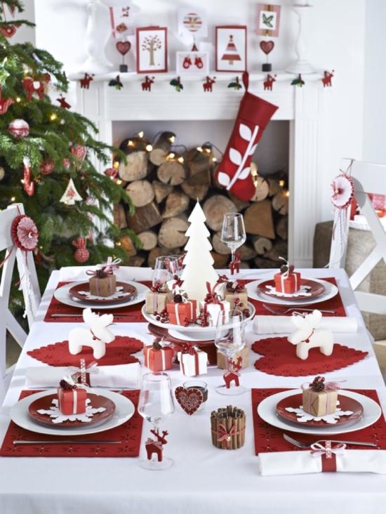 Decoração Mesa de Natal Toalha - Laguna