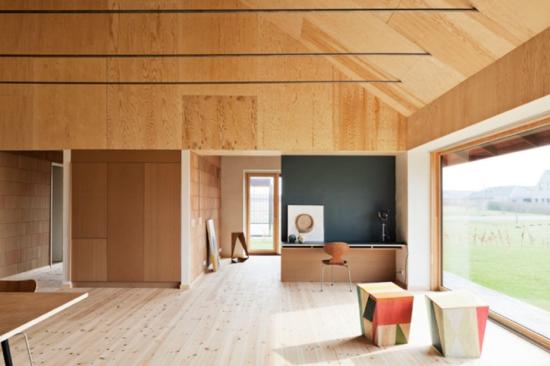 Dinamarca Casa Ecológica Sala - Laguna