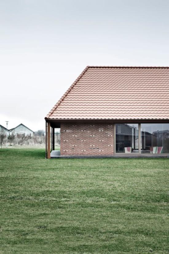 Dinamarca Fachada Casa Ecológica - Laguna