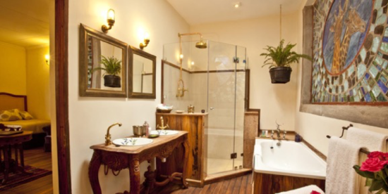 Banheiro Giraffe Manor Hotel - Laguna