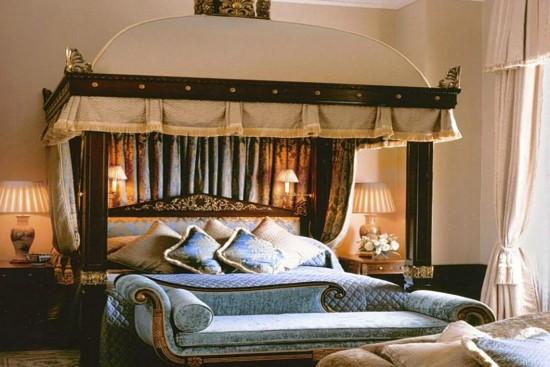 Decoração Quarto Lanesborough Hotel Luxo Londres - Laguna