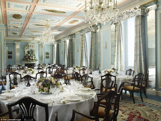 Restaurante Lanesborough Hotel - Laguna