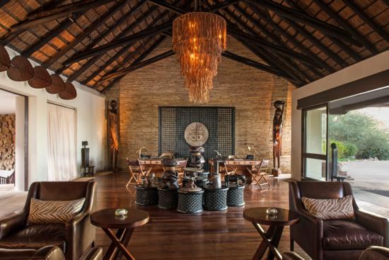 Decoração Four Seasons Safari Lodge Serengeti - Laguna