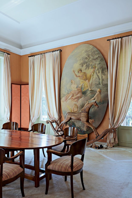 Interior da Residência de Giorgio Armani - Laguna