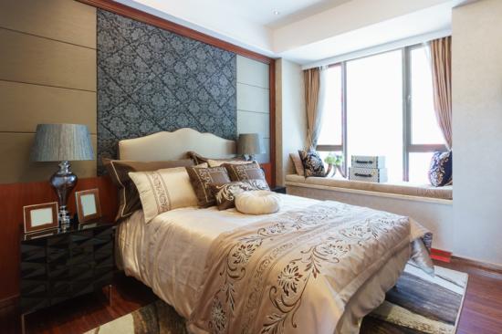Cabeceira da cama papel de parede arabesco - Laguna