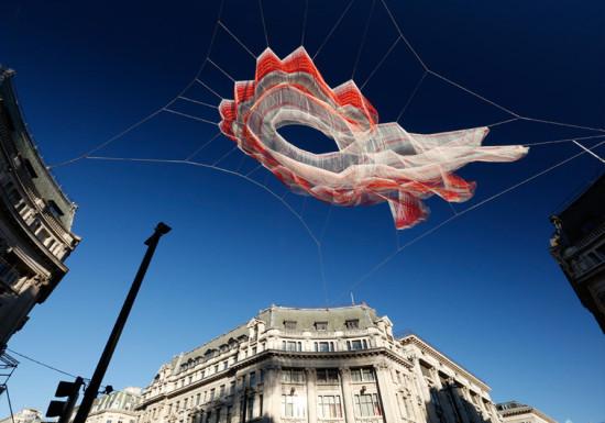 Echelman Esculturas Londres - Laguna