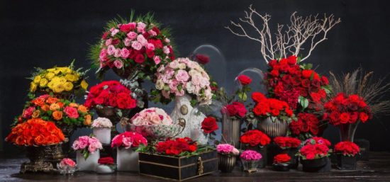 Arranjos The Forever Rose London - Laguna