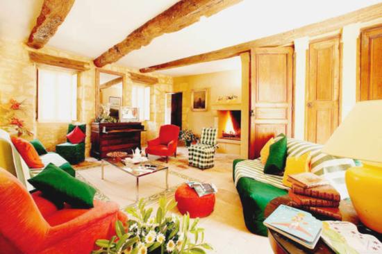 Interior Château Cardoux - Laguna