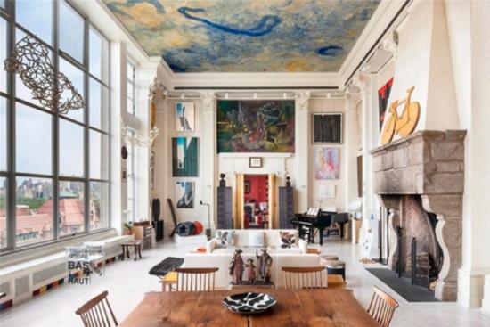Loft repleto de obras de arte em Nova York - Laguna
