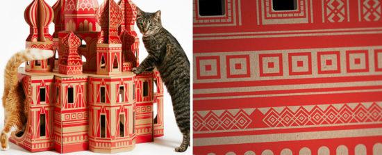 Casa para gatos inspirada em monumentos - Laguna