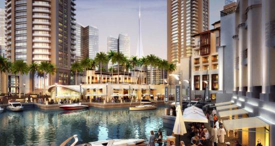 Dubai Creek Harbour Santigo Calatrava - Laguna