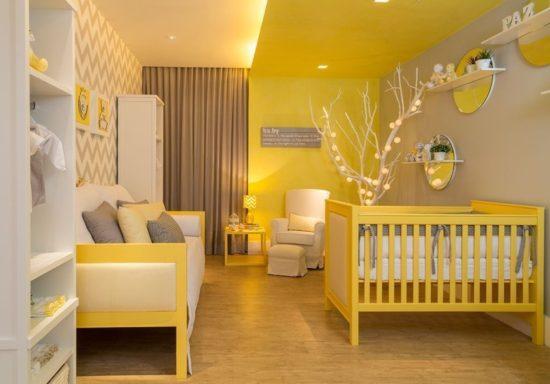Quarto de bebê amarelo - Laguna