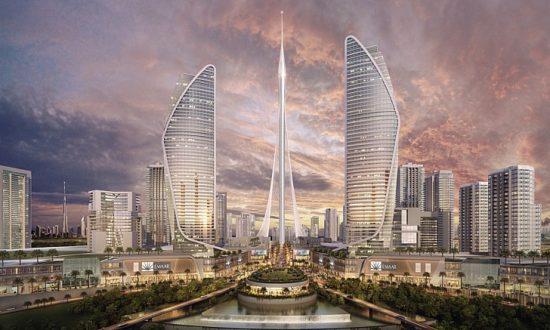 Torre de observação em Dubai