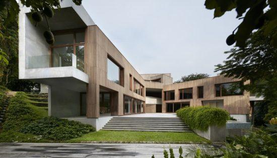 Astrid Hill Singapura casa sustentável - Laguna