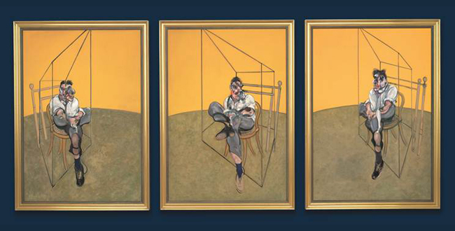 Three Studies of Lucian Freud - Laguna