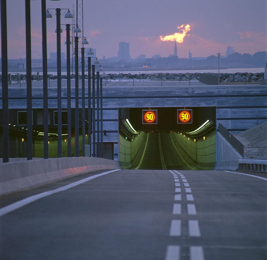 Túnel de Öresund - Laguna