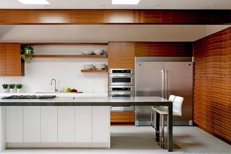 Cozinha madeira e branco - Laguna