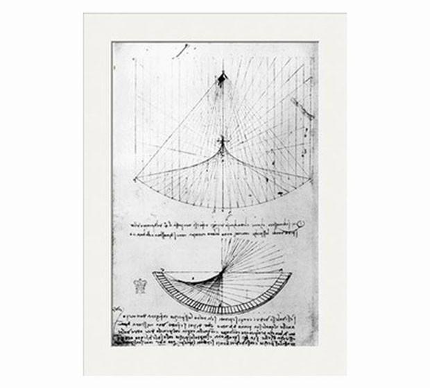 Desenhos de Leonardo Da Vinci - Laguna