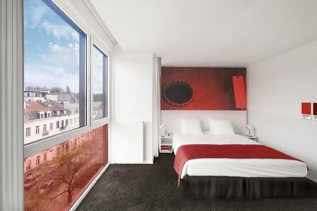 Hotel Pantone suíte vermelha - Laguna