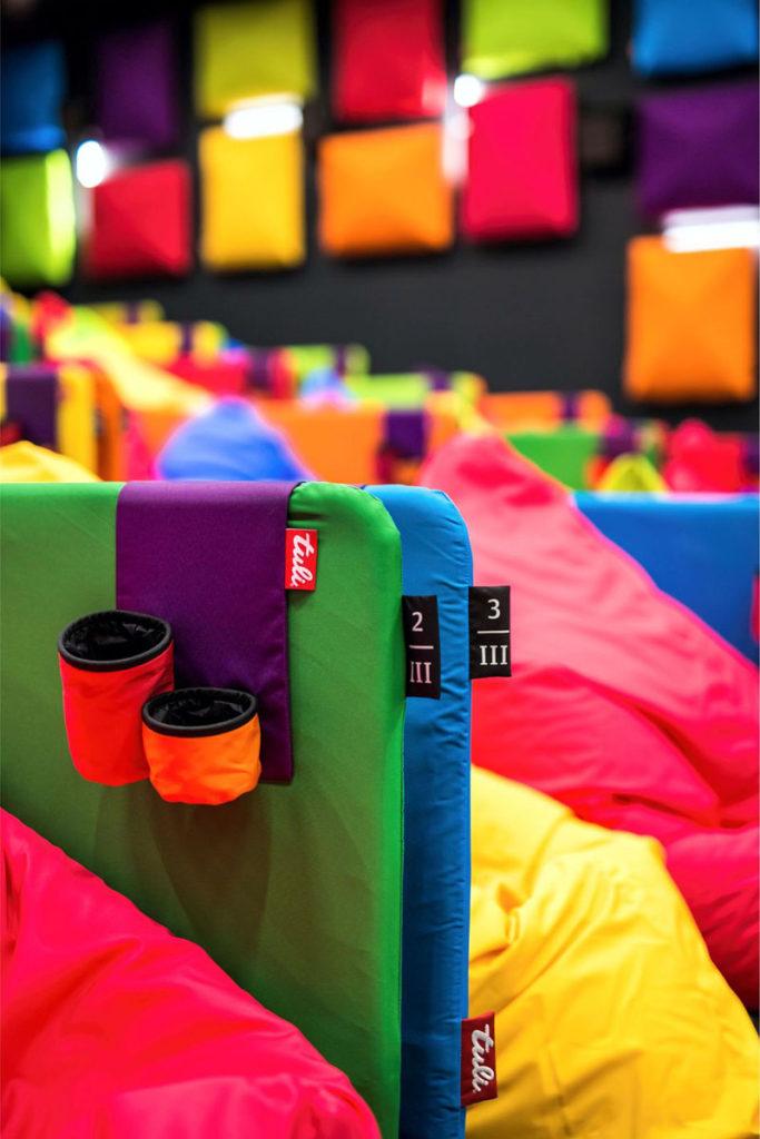 Suporte de bebidas cinema colorido - Laguna