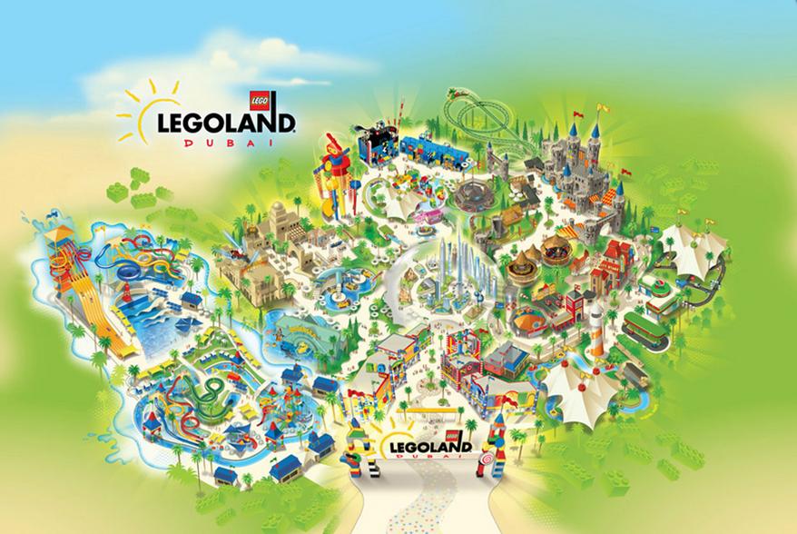 Dubai Park Resorts Legoland - Laguna