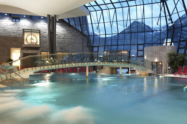 Aqua Dome piscina interna - Laguna