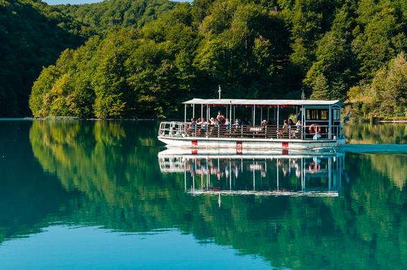 Barco Plitvice - Laguna