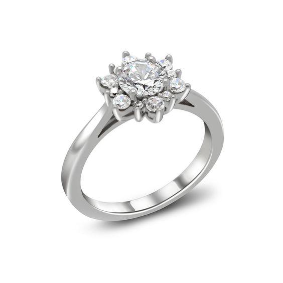 Elsa anel de noivado - Laguna