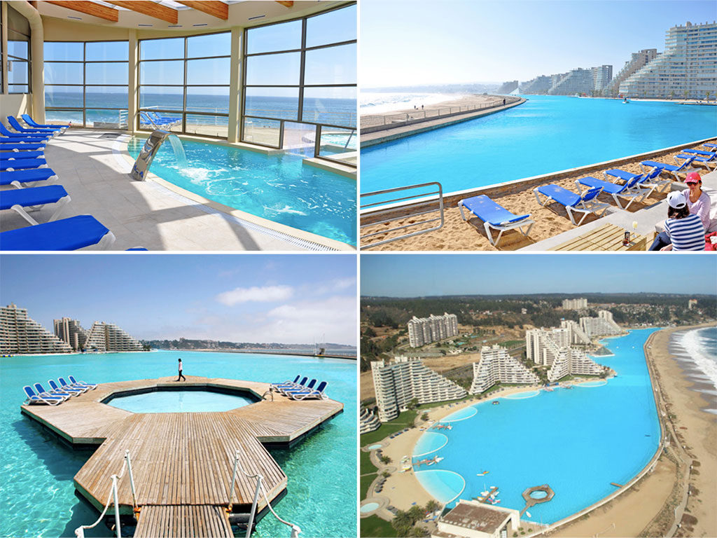 Maior piscina do mundo Chile - Laguna