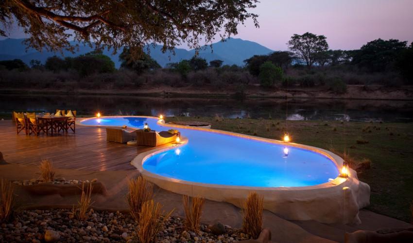 chongwe-river-house piscina - Laguna