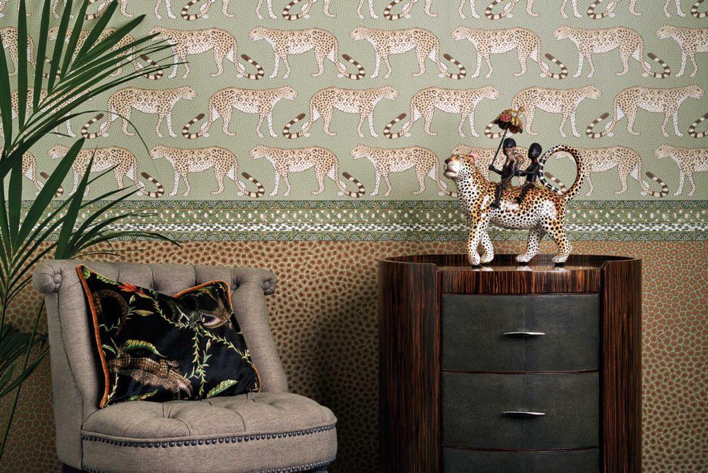 Papéis de parede inspirados na África