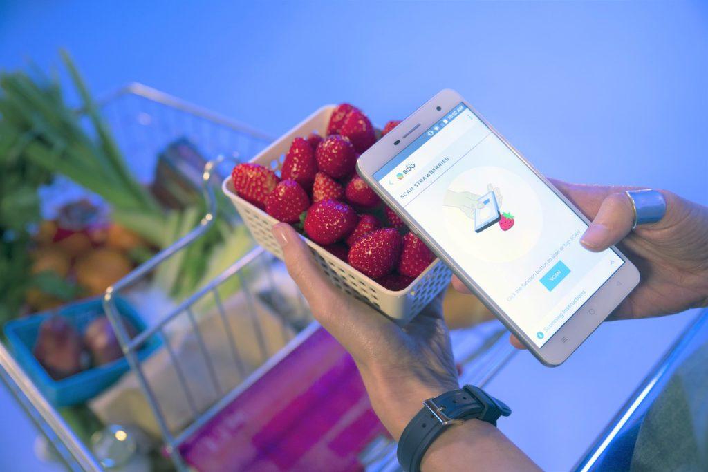 Sensor para smartphone mostra qual é a fruta mais doce