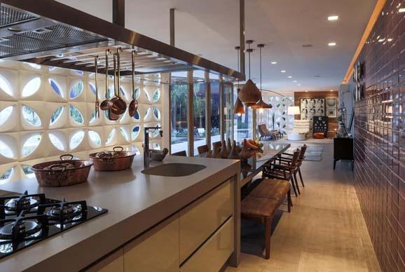 Cobogo na cozinha - Laguna