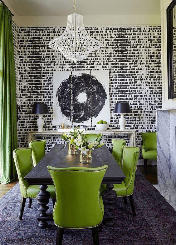 Decor sala de jantar greenery - Laguna