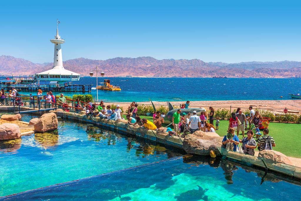 Eilat atracoes - Laguna