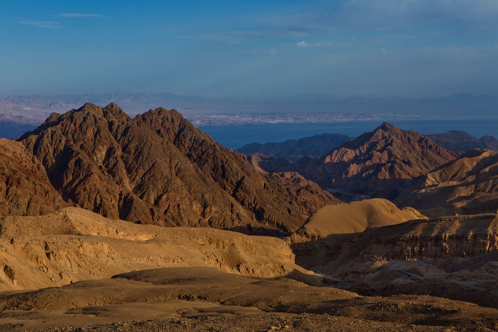 Montanhas em Eilat - Laguna