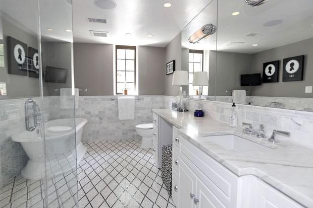 Nova casa de Barack Obama banheiro - Laguna