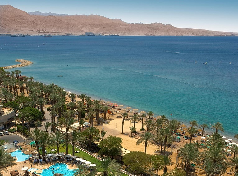 Praia em Eilat - Laguna
