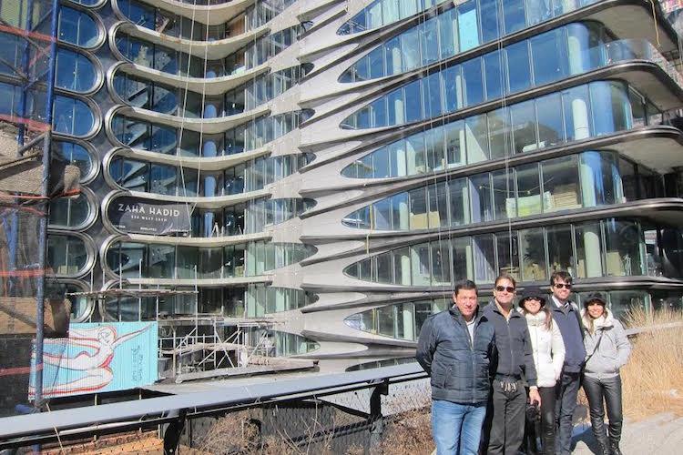 Laguna pesquisa conceitos e técnicas em Nova Iorque - Construtora Laguna