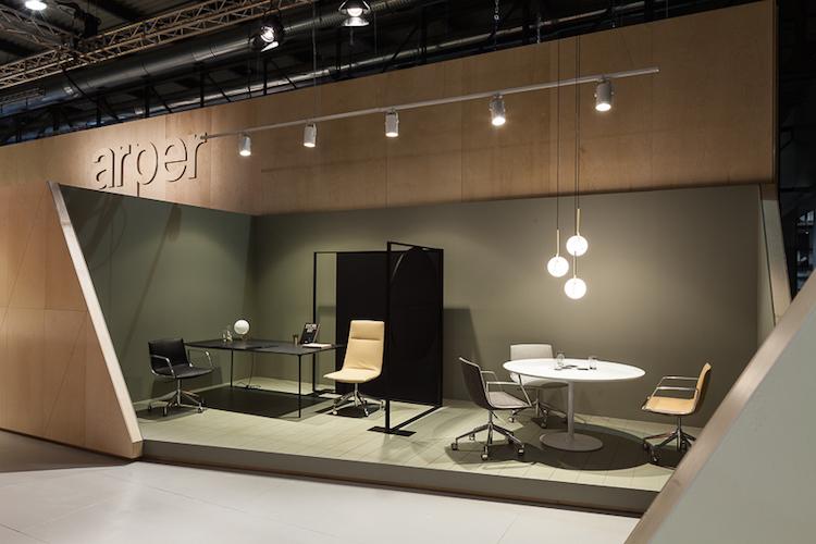 Mostra workplace 3.0: Salão Móvel de Milão 2017 - Construtora Laguna