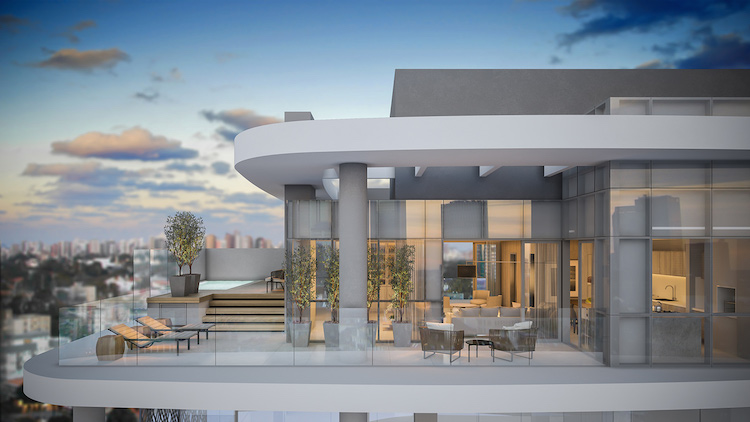 Luxo com o mármore dos empreendimentos Armani - Construtora Laguna