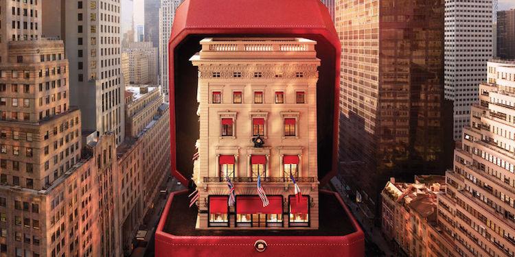 Cartier na Quinta Avenida é reformada e lança colar comemorativo - Construtora Laguna