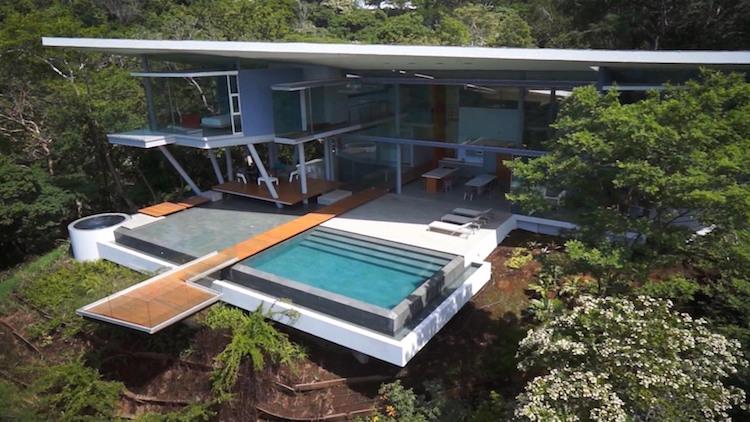 Mansão Open Space na Costa Rica - Construtora Laguna