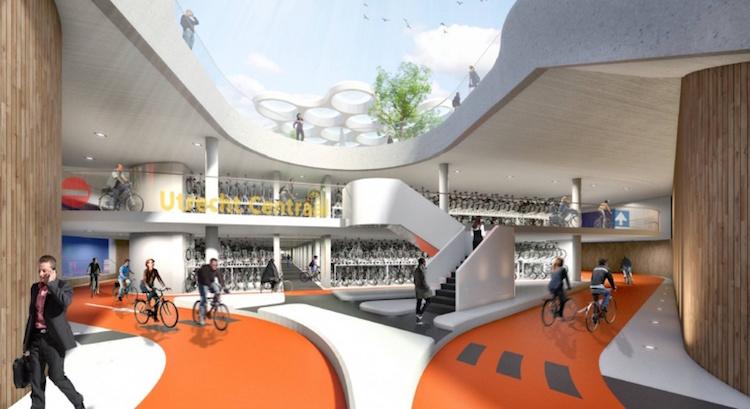 Holanda inaugura maior bicicletario do mundo - Construtora Laguna