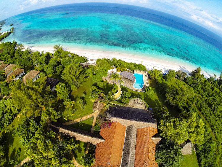 Resort embaixo d'água - Construtora Laguna