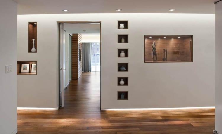 contempor neo rodap negativo. Black Bedroom Furniture Sets. Home Design Ideas