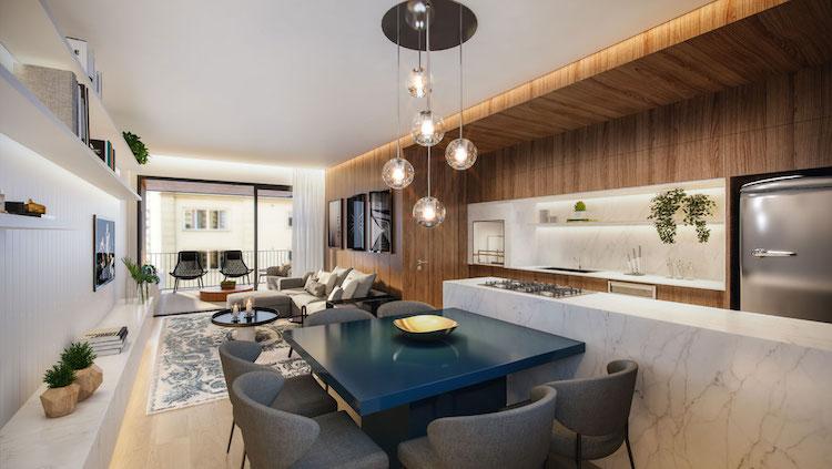 Open Plan apartamento sem paredes - Construtora Laguna