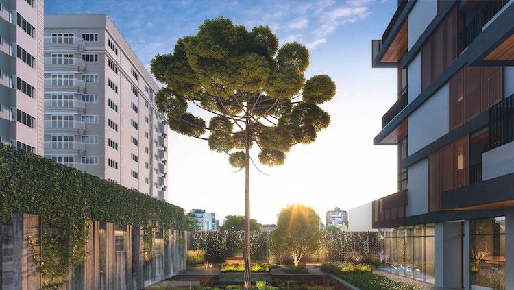 Inspirado em Nova Iorque, edifício de luxo em Curitiba integra moradores com o bairro - Construtora Laguna